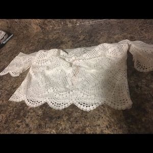 Victoria's Secret Bralette Top with sleeves in S